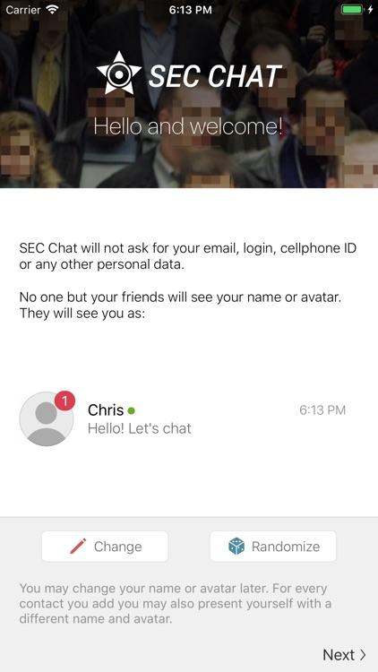 Sec chat SEC Sundowner