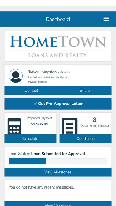 HomeTown Loans screenshot two