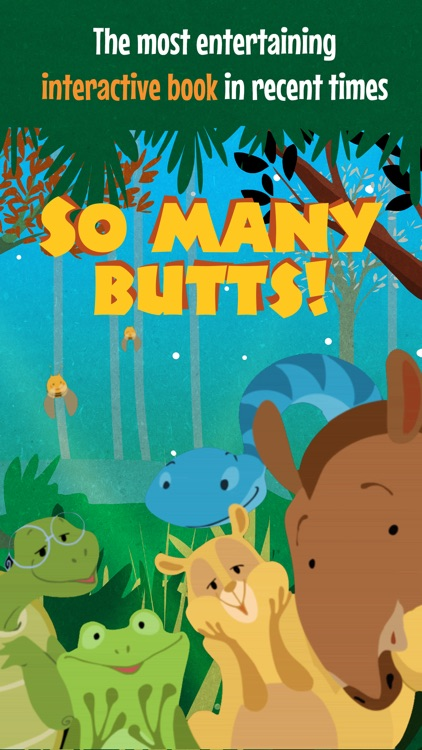 So Many Butts! - interactive book for kids screenshot-0