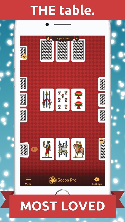 Scopa Pro - THE card game screenshot-3