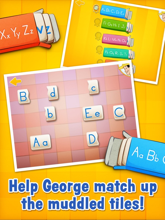 Curious George: Letters screenshot-3