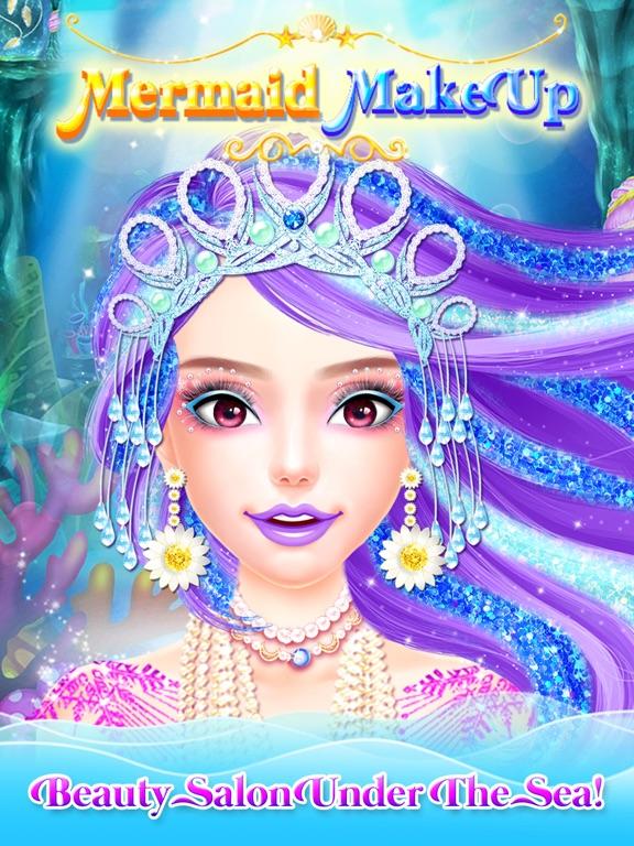 Mermaid Princess Makeup Makeover - Princess Games!