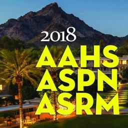 AAHS, ASPN, ASRM, 2018 Meeting