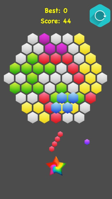 !Hexagonal Merge - Premium screenshot 3
