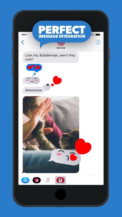 Fun Bubble iMessage Stickers