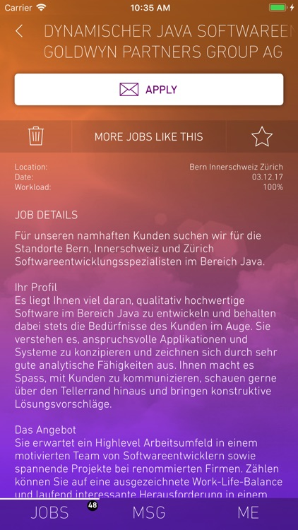 yooture job search