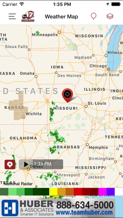 ABC 17 Stormtrack Weather App screenshot-1