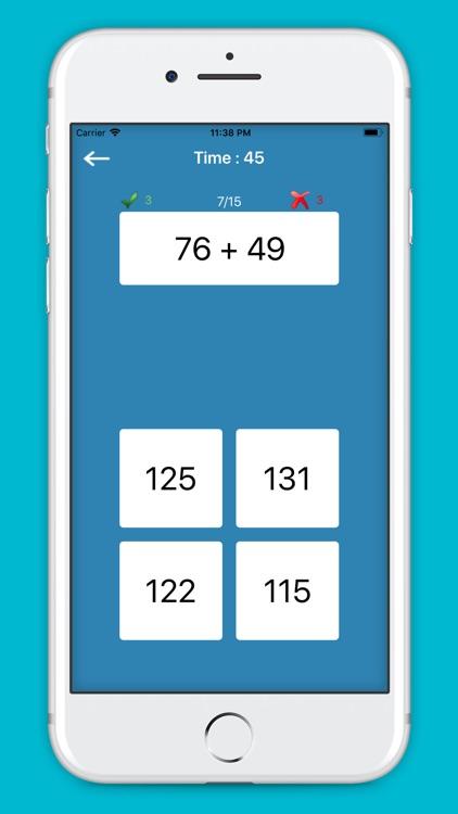 Math: Arithmetic Challenge screenshot-3