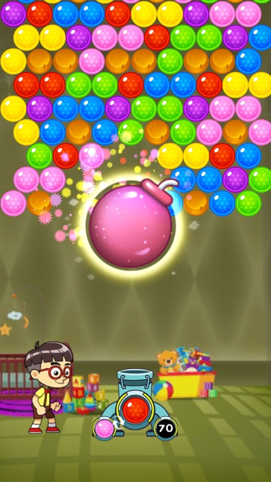 Screenshot of Bubble Toys Pop App