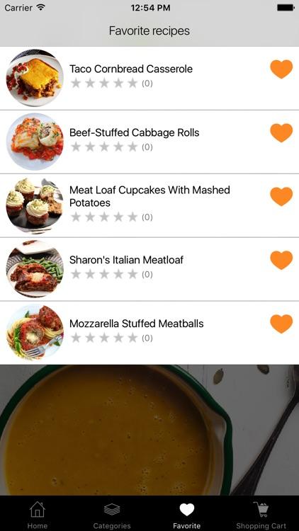 Forcemeat Recipes screenshot-3