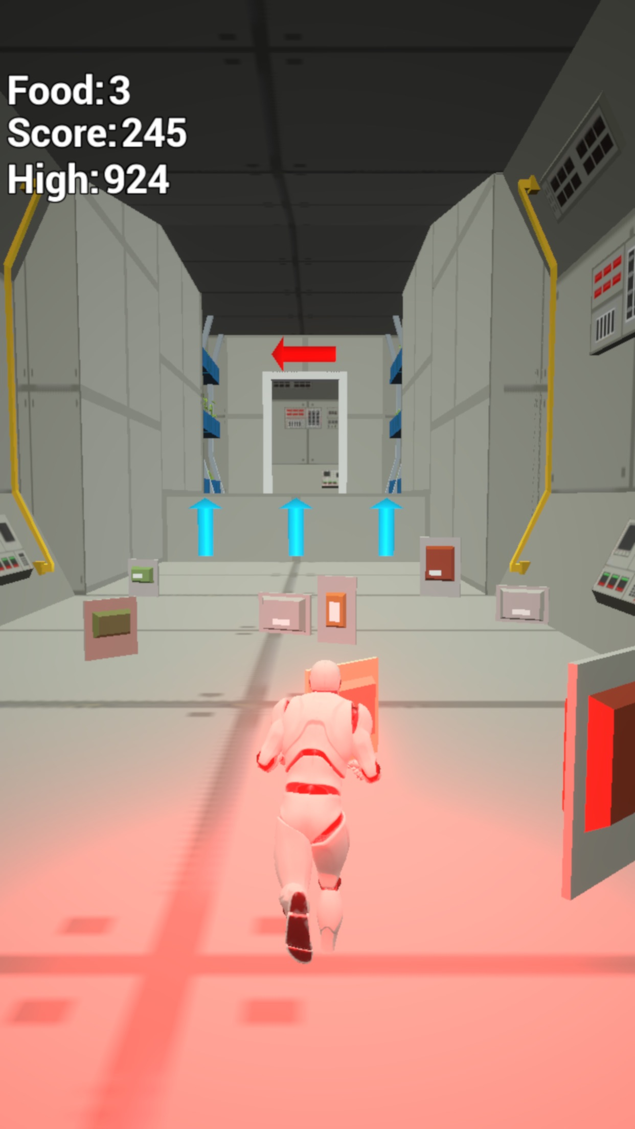 Screenshot do app Space Station: Run