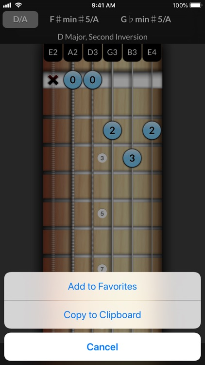 Reverse Chord Finder Pro screenshot-5