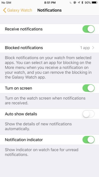Samsung Galaxy Watch (Gear S) screenshot-5