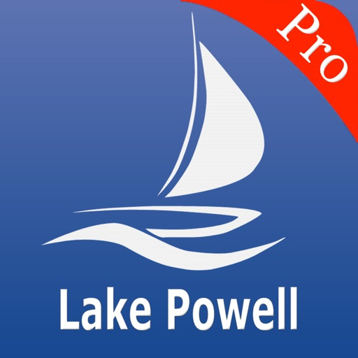 Lake Powell Nautical Chart Pro