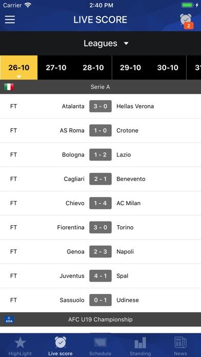 Screenshot #6 for Football TV - Football Scores