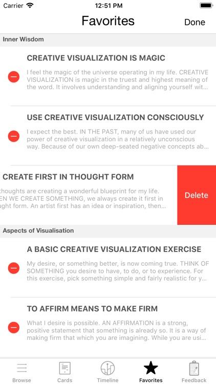 Creative Visualization Deck screenshot-4