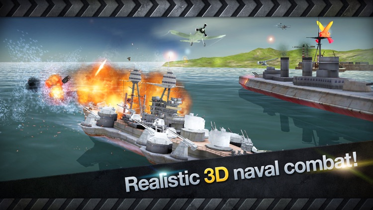 WARSHIP BATTLE:3D World War II screenshot-3