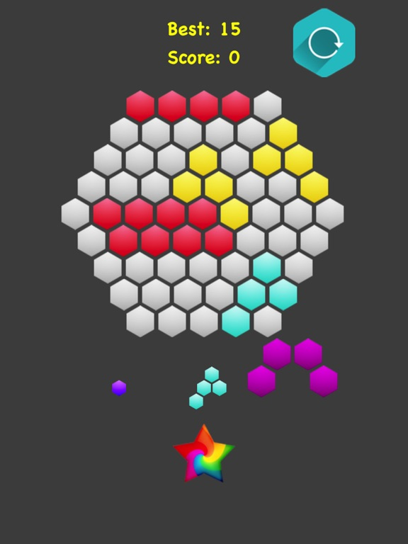 Hexagonal Merge screenshot 6