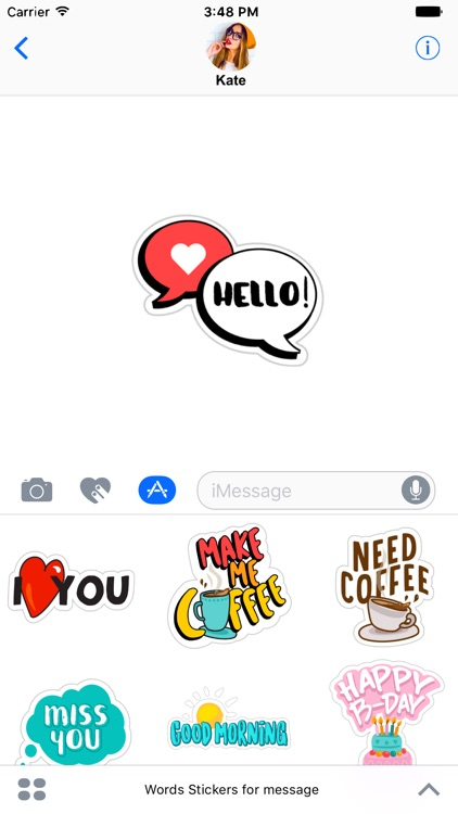 Stickers for iMessage!