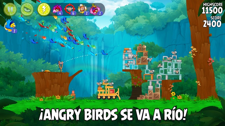Angry Birds Rio screenshot-0