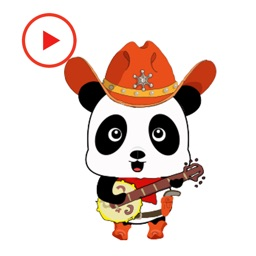 Panda Lovely Animated Stickers