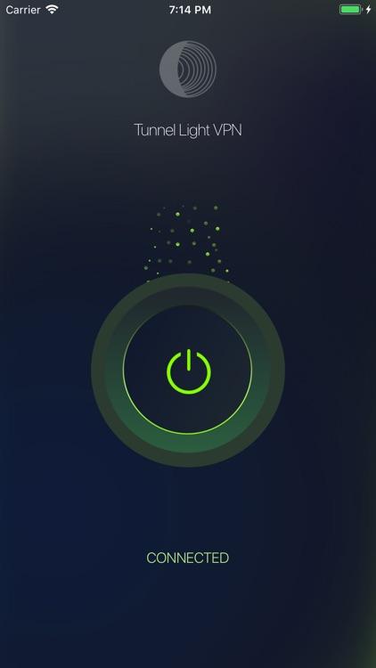 TunnelLight VPN Fast Proxy screenshot-3