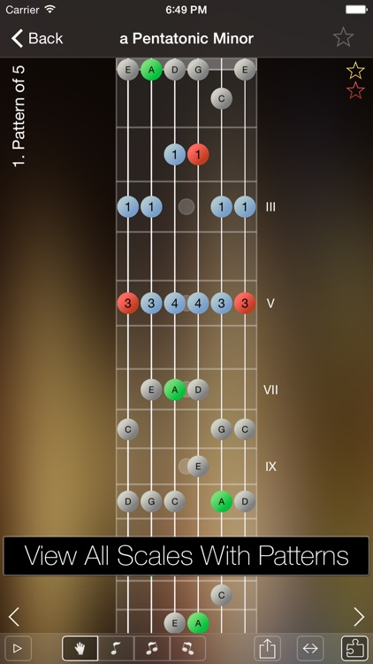 Star Scales Pro For Guitar screenshot-0