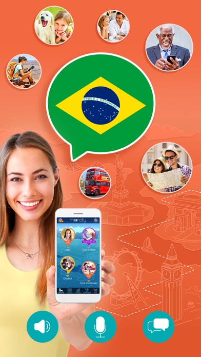 ポルトガル語を学ぶ - Mondlyのおすすめ画像1