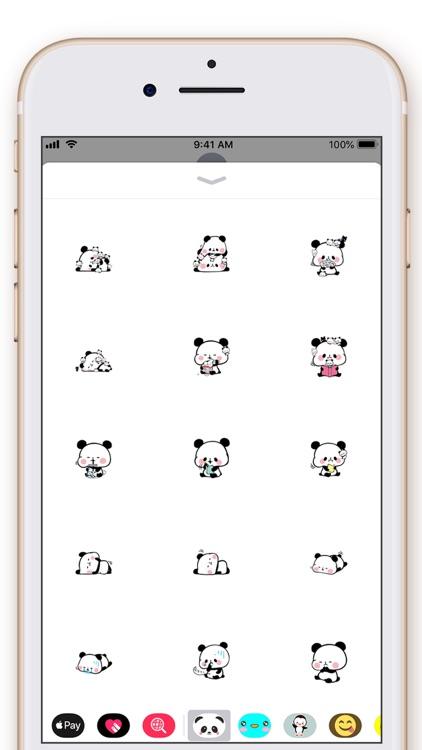 Cute Panda Kawaii Stickers screenshot-4