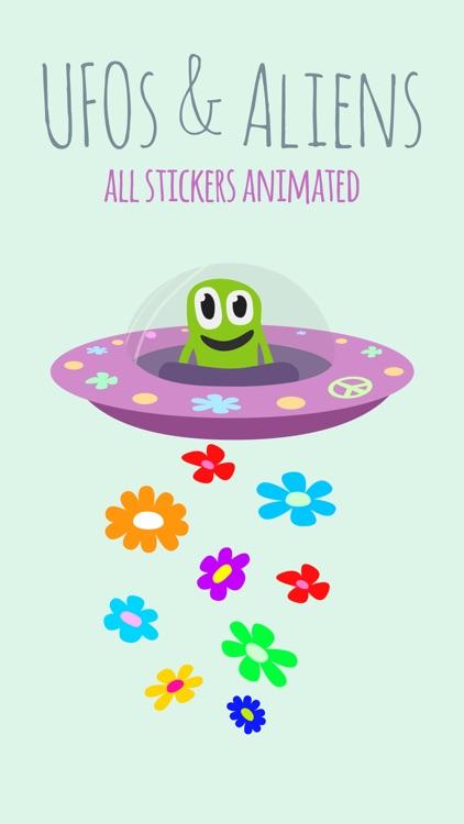 UFOs & Aliens animated screenshot-4