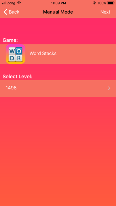 Cheats for Word Stacks screenshot one