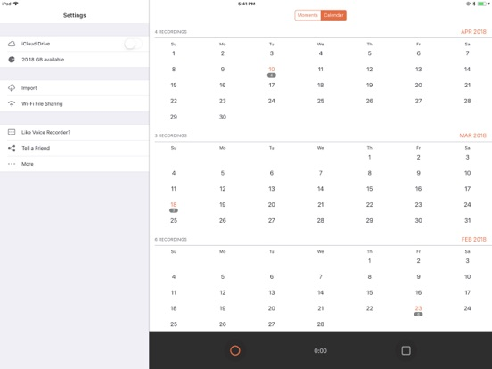 Voice Recorder ◉ Screenshots