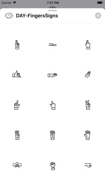 Fingers Signs