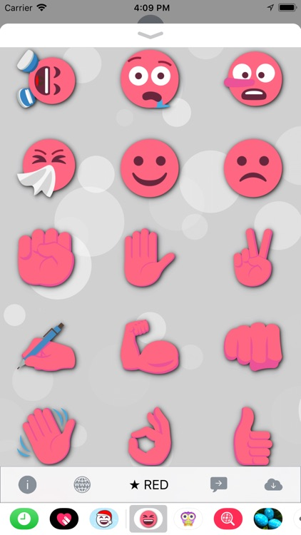 RED Emoji • Stickers screenshot-4