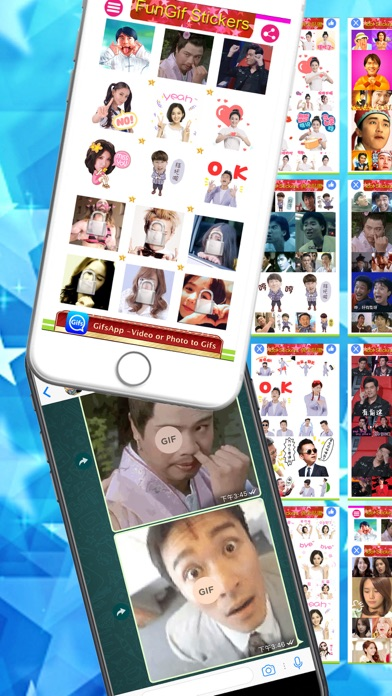 FunGif Stickers screenshot one