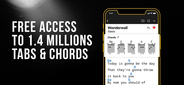 Ultimate Guitar: Tabs & Chords on the App Store