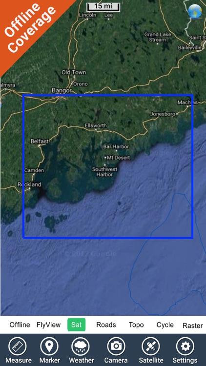 Acadia National Park GPS and outdoor map screenshot-4