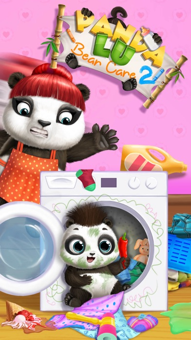 Panda Lu Baby Bear Care 2 screenshot 2