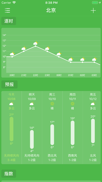 乐知天气-精准天气预报空气质量查询のおすすめ画像2