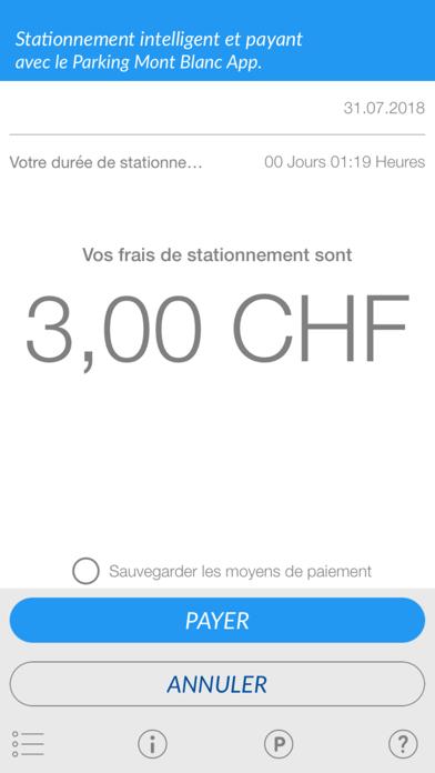 Parking Mont-Blanc screenshot three