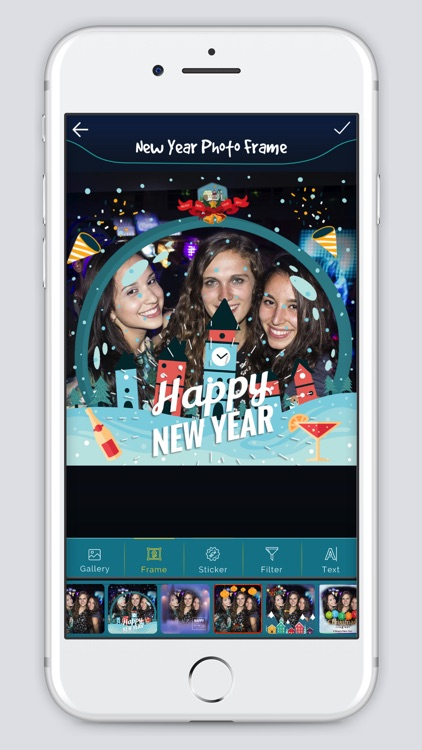 New Year photo Frame 2k18