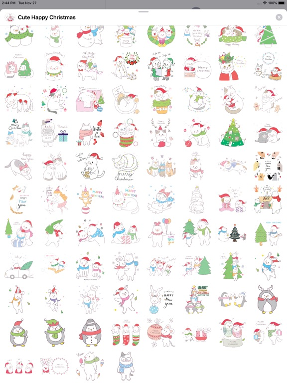 Cute Hand Drawn Christmas Pack screenshot 9