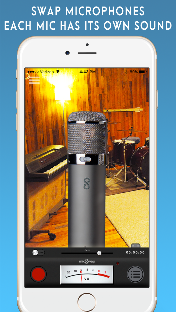 MicSwap: Mic Modeler, Recorder Screenshot