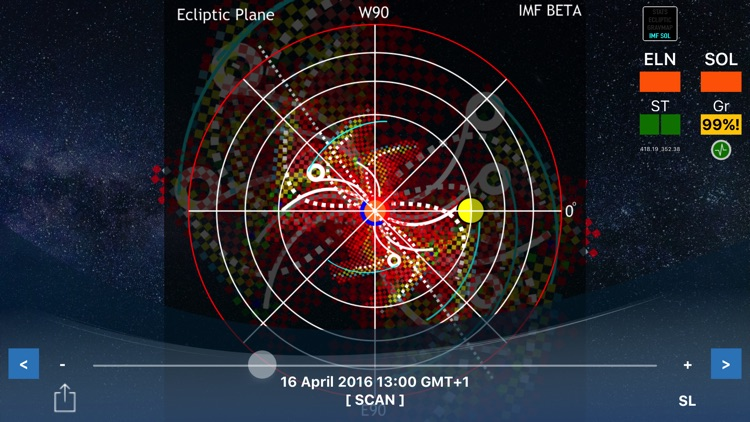 Quakescanner Space Weather App screenshot-4