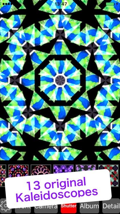 Kaleidoscope Art - Picture editor & camera filters screenshot-0