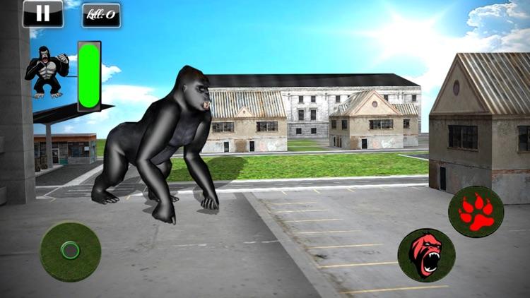 Angry Gorilla Simulator 2017: Frenzy Monkey Life