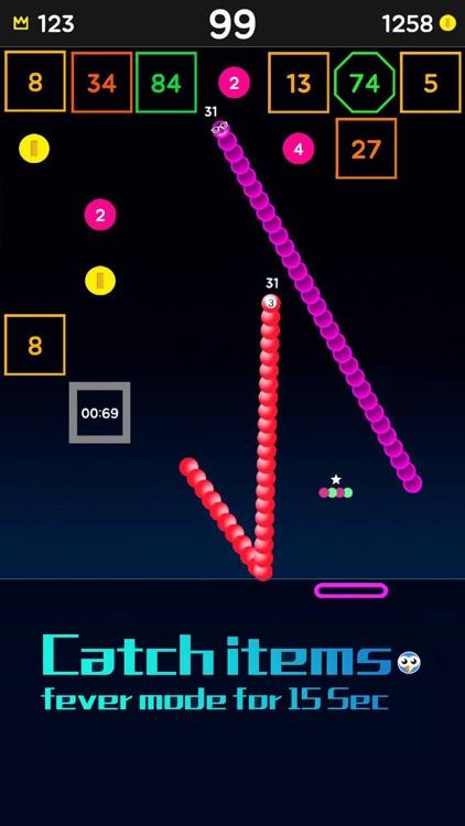 Snake Bricks-Bounce Balls screenshot-7