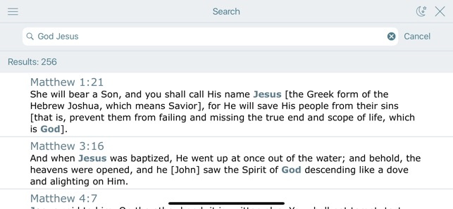 Amplified Bible with Audio on the App Store