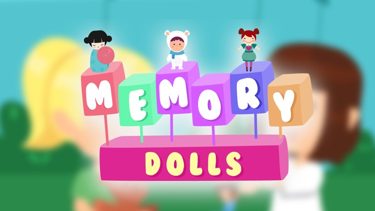 Memory Game with Dolls