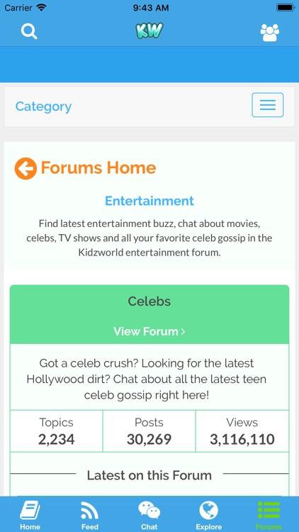 Kidzworld: Chat Room & Forums screenshot-7